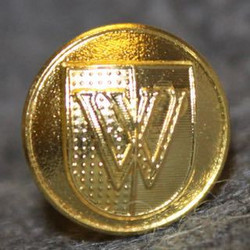 Vevey, Swiss town, 12mm, gilt, cap button