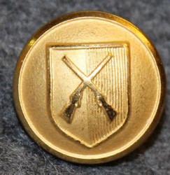 Crissier, Swiss municipality, 15,5mm, gilt