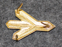 Finnish rank insignia, army academy student, old type