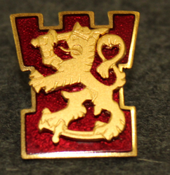 Finnish defence forces, cap badge, chief of rescue services.