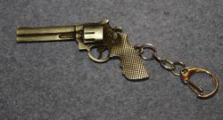 Revolver keychain,
