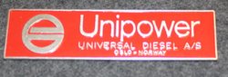 Unipower, Universal Diesel A/S, label
