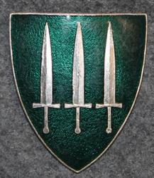 Norjan armiejan merkki: Esikunta, etelä-Norja