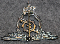 Luftforsvaret befal, elektronisk tjenste, Norwegian air force branch badge, Commandant, electronics