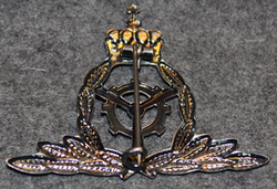 Luftforsvaret befal, flyteknisk tjenste, Norwegian air force branch badge, Commandant, flight technician