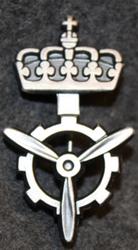 Norjan ilmavoimat, koulutushaaramerkki, lentotekninen ala. VIIMEINEN