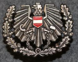 Itävaltalainen lakkimerkki.