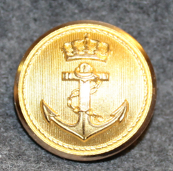 Sjøforsvaret, Royal Norwegian Navy, 23mm, Gilt