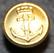 Norjan kuninkaallinen laivasto, 15mm, kullattu, ruuvikiinnitys