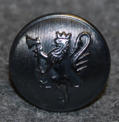 Norwegian lion, 23mm, cap button