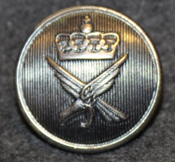 Luftforsvaret, norwegian air force, 23mm, grey, wide crown