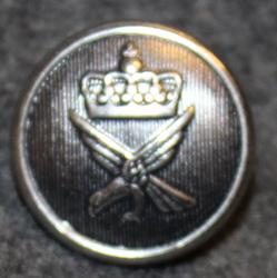 Norjan ilmavoimat, 17mm, harmaa, leveä kruunu