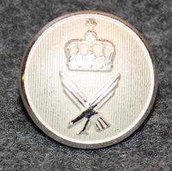 Norjan ilmavoimat, 17mm, hopean valkea, kapea kruunu