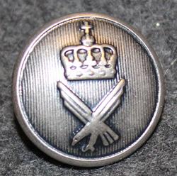Norjan ilmavoimat, 17mm, harmaa, kapea kruunu
