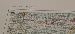 Finnish WW2 map, IV:10, Imatra