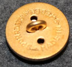 Värmlands regemente, swedish military, 22,5mm, gilt