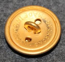 Södermanlands regemente, swedish military, 23mm, gilt