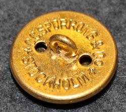 Försvarsveterinär, swedish military, 23mm, gilt
