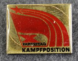DDR, Kampfposition, X parteitag, 10. puoluepäivät.