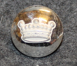 Vapaaherran kruunu, ruotsi, 16mm, hopeoitu, linssi