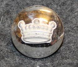 Friherrlig krona, swedish heraldry, 16mm, silver, lens