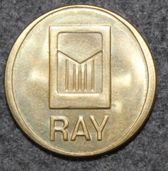 RAY, finnish slotmachine association, 24,4x2mm