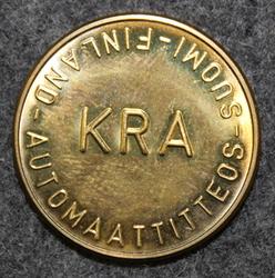 KRA, Automaattiteos, Suomi - Finland, 25,7x2mm