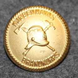 Kööpenhaminan palokunta, 25mm, kullattu