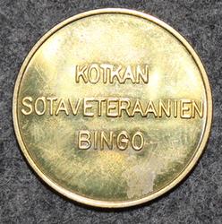 Kotkan sotaveteraanien bingo 25x1,5mm
