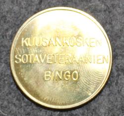 Kuusankosken sotaveteraanien bingo 25x1,5mm