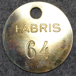 Fabris Ab, 30mm, no:64