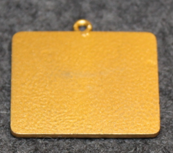 Auglysningastofan Reykjavik, pendant, gilt