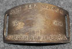 Norjalainen solki v. 1944, Alt for Norge 1944, Bilbataljonen  - Berga VIIMEINEN