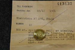Elektriska Ab AEG. SFH, v. 1961