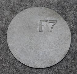 Kungliga Flygförvaltningen, F7, Royal Air Force Administration, Black