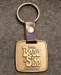 Hotel Beau Site, keychain / fob