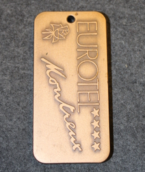 Eurohotel Montreux, keychain / fob