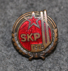 SKP, Finnish Communist Party 1918, numbered