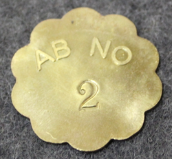 Nyköpings Omnibustrafik Ab, AB NO 2, punched number