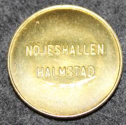 Nöjeshallen Halmstad. Tivoli hall.