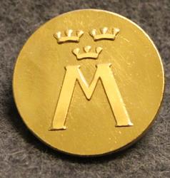 Motormännens Riksförbund. Autoliitto, 24mm, kullattu