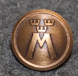 Motormännens Riksförbund. Autoliitto, 13,5mm, pronssi