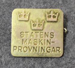 Statens Maskinprovar, Valtion koneentarkastaja