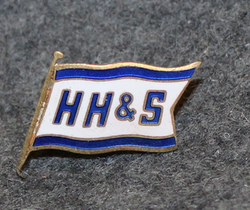 H. Heitmann & Son AS, shipping company, cap badge, v2