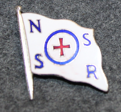 Redningsselskapet, Norwegian Society for Sea Rescue, cap badge