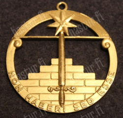 Bifrost orden, Swedish Fraternal Order, grade mark.
