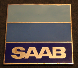 SAAB, 81x81mm badge