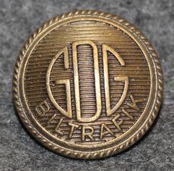 GDG Biltrafik AB, bussi ja rautatie yhtiö, 20mm, pronssi