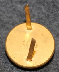 Borås Vakt. 21,5mm kullattu. Kokardi