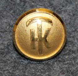 Transportkompaniet TK, 13mm kullattu, kuljetusfirma, Vanha logo